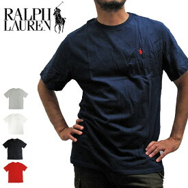 【メール便送料無料】POLO RALPH LAUREN ポロラルフローレン Tシャツ 半袖Tシャツ 674984 ONEPOINT CREW S/S TEE ワンポイント クルーネック 半袖Tシャツ
