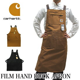カーハート Carhartt エプロン 102483-211 フィルムハンドダックFIRM HAND DUCK APRON【メール便不可・メンズ】