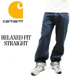 Carhartt カーハート デニムパンツ B460 RELAXED FIT STRAIGHT LEG JEAN DENIM PANTS リラックスフィット ストレート デニム ペインターパンツ