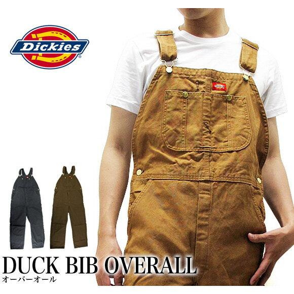 【2枚以上で送料無料】ディッキーズ Dickies オーバーオール ダック DUCK BIB OVERALL DB100 作業着 仕事着 作業服 ユニフォーム 男性用 メンズ つなぎ