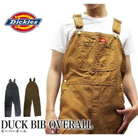 ディッキーズ Dickies オーバーオール ダック DUCK BIB OVERALL DB100 作業着 仕事着 作業服 ユニフォーム 男性用 メンズ つなぎ