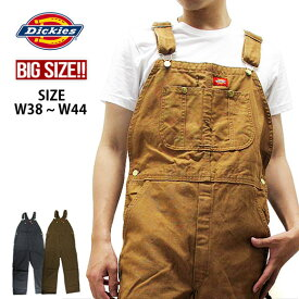 【大きいサイズ】ディッキーズ Dickies オーバーオール ダック DUCK BIB OVERALL DB100 作業着 仕事着 作業服 ユニフォーム 男性用 メンズ つなぎ
