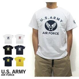 U.S. ARMY ユーエスアーミー Tシャツ 半袖 AIR FORCE エアフォース アメリカ軍 米軍 US AIR FOCE ミリタリー ALPHA アルファ ROTHCO ロスコ 【メール便対応・メンズ・レディース】
