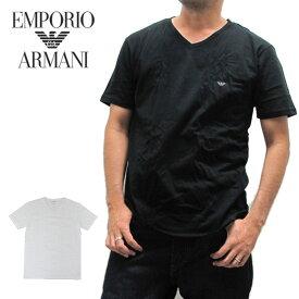 【メール便配送】エンポリオアルマーニ EMPORIO ARMANI 110856 Vネック Tシャツ 半袖 メンズ