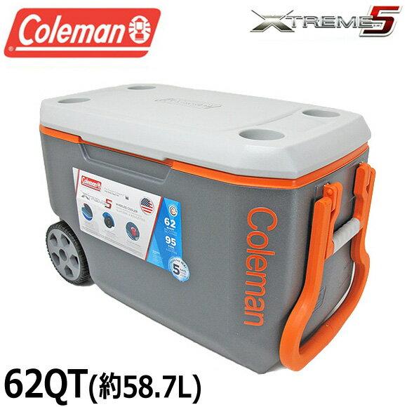 【送料無料】コールマン COLEMAN クーラーボックス 62QT 3000004485 エクストリーム クーラーボックス 大容量58.7L XTREME COOLERS BOX アウトドア キャンプ 運動会 釣り フィッシング メール便不可