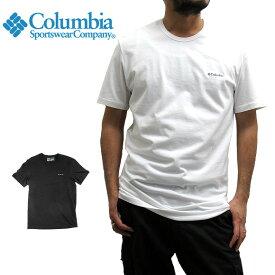 コロンビア Columbia 半袖Tシャツ クルーネック RM8C701 ショートスリーブ シャツ SHORT SLEEVE T-SHIRT CREWNECK