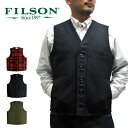 フィルソン FILSON 11010055 マッキーノ ウールベスト ベスト MACKINAW WOOL VEST 【メール便不可】02P01Mar15