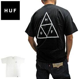 【メール便配送】ハフ Tシャツ HUFエッセンシャル トリプルトライアングル ロゴ TS00509 半袖Tシャツ