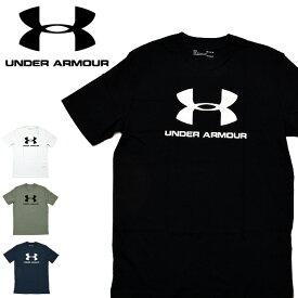 【メール便配送】UNDER ARMOUR アンダーアーマー Tシャツ 1329590 SPORTSSTYLE LOGO SS メンズ 半袖 スポーツスタイル 胸 ブランド ロゴ 大きいサイズ XL XXL 2XL メンズ