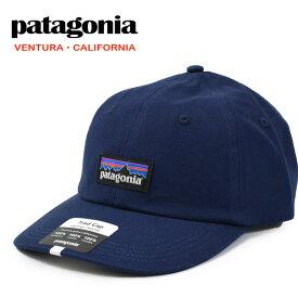 【メール便配送】Patagonia キャップ 38296 パタゴニア P-6 ラベル トラッド キャップ 帽子 Classic Navy CNY