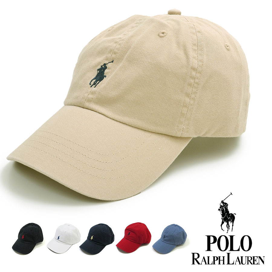POLO RALPH LAUREN ポロ・ラルフローレン 帽子 メンズ 65164 ワンポイント ポニー キャップ 帽子 One