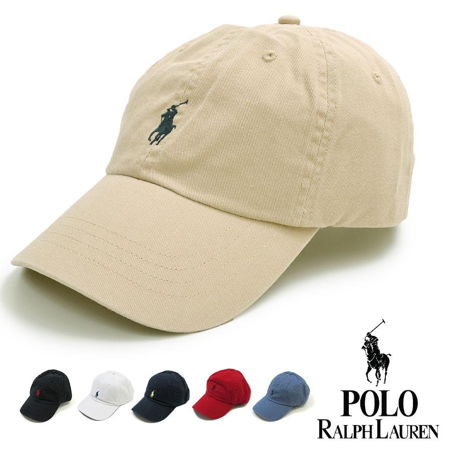 POLO RALPH LAUREN ポロ・ラルフローレン 帽子 メンズ 65164 ワンポイント ポニー キャップ 帽子 One Point Cap ローキャップラルフ アメカジ