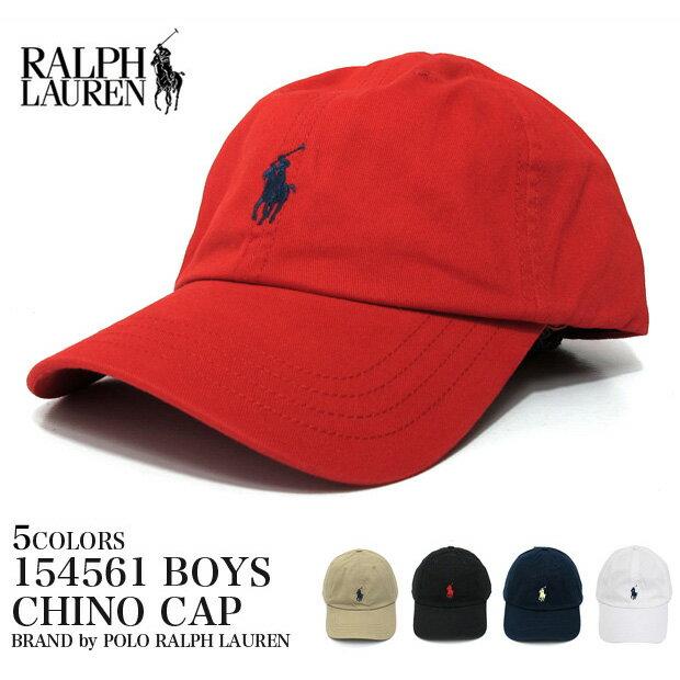 POLO RALPH LAUREN ポロ・ラルフローレン 帽子 154561  552489【ボーイズ】 チノキャップ BOYS CHINO CAP ローキャップ