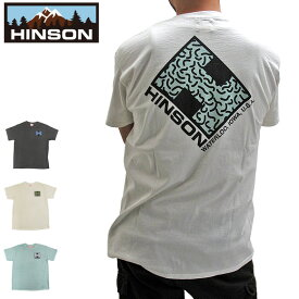 """【メール便送料無料】ヒンソン HINSON 半袖 Tシャツ メンズ ロゴTシャツ HINSON LOGO TEE """"FAT LOGO"""" コットン 綿100% 891HD99540"""