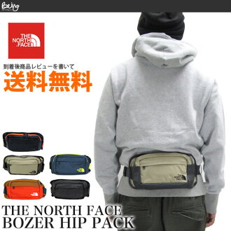 THE NORTH FACE the, North face A6SB hip Pack waist bag body bag shoulder bag BOZER HIP PACK outdoor casual commute commuting diagonally over the men women men women's non-P15Aug15