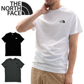 【メール便配送】THE NORTH FACE ノースフェイス Tシャツ SIMPLE DOME TEE ハーフドーム Tシャツ HALF DOME TEE 半袖 ロゴT メンズ レディース ユニセックス NF0A2TX5