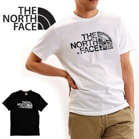 【メール便配送】THE NORTH FACE ノースフェイス Tシャツ ハーフドーム ウッドドーム WOODCUT DOME TEE 大きいサイズ 半袖 ロゴT メンズ レディース ユニセックス NF00A3G1