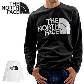 【メール便配送】THE NORTH FACE ロンT ノースフェイス ロゴT STANDARD L/S TEE 長袖 大きいサイズ メンズ レディース ユニセックス NF0A5585