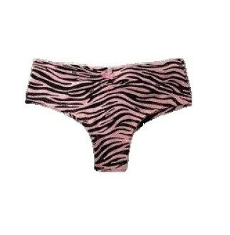 cc07d6bbd9 globon  Victoria s Secret (Victoria s secret) panties black pink Zebra