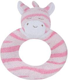 angel dear Ring Rattle Pink Zebra エンジェルディア リングがらがら しまうまピンク