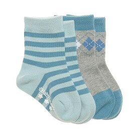【メール便】ベビーレッグス ルイス 靴下2足セット BabyLegs Lewis Socks