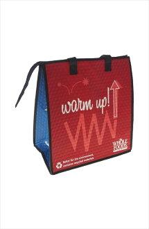 Whole Food Market (whole foods market) bags cooler bag (red/blue) [parallel import]