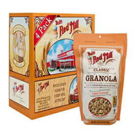 Bob's Red Mill Resealable Classic Granola、12オンス(4パッ