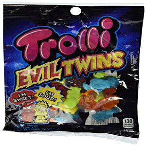 Trolli Evil Twinsグミキャンディー4.25ozバッグ Trolli Evil Twins Gummy Candies 4.25oz Bag