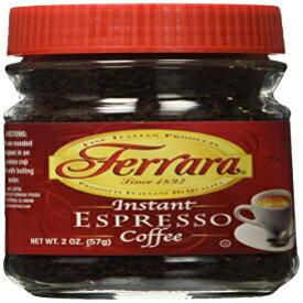 フェラーラエスプレッソインスタントコーヒー2オンス2個セット Ferrara Espresso Instant Coffee 2 oz set of 2