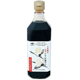 鶴醤4年鶴醤油18オンス Yamaroku 4 Years Aged Tsuru Bisiho Soy Sauce, 18 Ounce