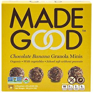 良いチョコレートバナナグラノーラミニ3.4オンス(2パック) Ma