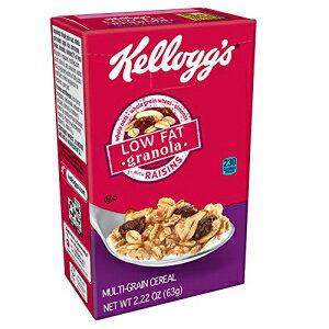 ケロッグの朝食用シリアル、低脂肪グラノーラ、レーズン入り、