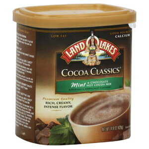 Land O Lakesホットココアミックス、ミント&チョコレート、148000オンス(パック3) Land O Lakes Hot Cocoa Mix, Mint & Chocolate, 14.8000-ounces (Pack of3)