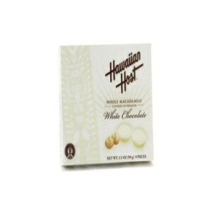 ハワイアンホストマカダミアナッツホワイトチョコレート3.5オンス ギフト用の箱 Hawaiian Host Macadamia Nuts White Chocolate 3.5 oz. Gift Box