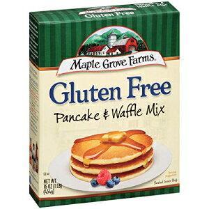 メープルグローブファームズパンケーキ&ワッフルミックス、グルテンフリー、16オンス Maple Grove Farms Pancake & Waffle Mix, Gluten Free, 16 Ounce