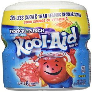 クールエイドトロピカルパンチミックス-19オンス Kool-Aid Tropical Punch Mix - 19 oz