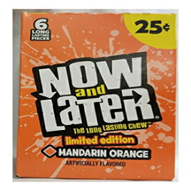 Now&Later限定版フレーバーマンダリンオレンジ24ctチェンジメーカー Now & Later Limited E
