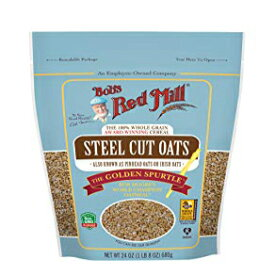 24 Ounce (Pack of 1), Resealable, Bob's Red Mill Steel Cut