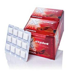 Cinnamon, Xyloburst Xylitol Gum Cinnamon Blister 1