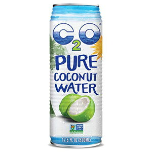 C2Oピュアココナッツウォーター、17.5液量オンスコンテナ(12個) C2O Pure Coconut Water, 17.5 Fluid Ounce Containers (Count of 12)
