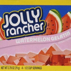 ジョリーランチャースイカゼラチンジェロ(4箱) Jolly Rancher