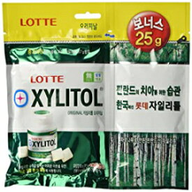 Lotte Xylitol Applemint Chewing Gum 4.4oz 112g (8