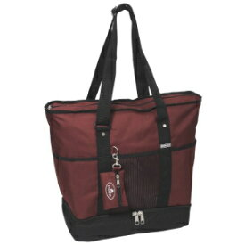 Everest Luggage Deluxe Shopping Tote, Burgundy/Blac