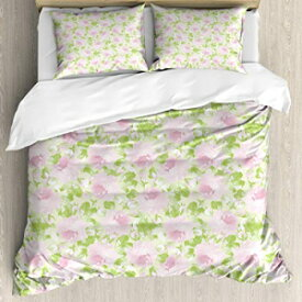 Ambesonne Shabby Chic Decor Duvet Cover Set Queen Size, Cl