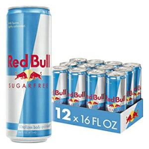 16階 Oz(12カウント)、シュガーフリー、レッドブルエナジードリンク、シュガーフリー、12パックの16 Fl Oz、シュガーフリー 16 Fl. Oz (12 Count), Sugar Free, Red Bull Energy Drink, Sugar Free, 12 Pack of 16 Fl Oz