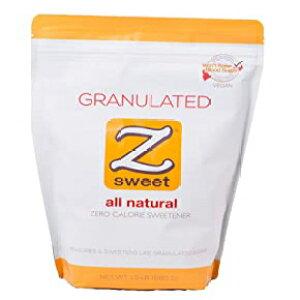 粒状、Z SWEETオールナチュラルゼロカロリー甘味料?粒状24オンス。非GMO、グルテンフリー、血糖への影響なしエリスリトールシュガー代替品?糖尿病、ケト、アトキンス、古、低炭水化物ダ