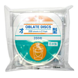Oblate Discs (Japanese edible film) w/English Ins