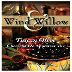 Wind&Willowトスカーナオリーブチーズボールと前菜のミックス.89オンス Wind & Willow Tuscan Olive Cheeseball and Appetizer Mix .89 oz.