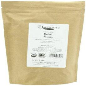 デビッドソンのティーバルク、ハーバルシーズン、16オンスバッグ Davidson's Tea Bulk, Herbal Seasons, 16-Ounce Bag