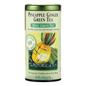 50カウント、パイナップルジンジャーグリーン、紅茶共和国、パ